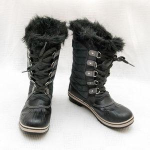 Sorel $100 Girls 6 Tofino II Snow Boots, Faux Fur
